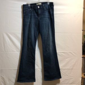 GAP perfect boot jeans.